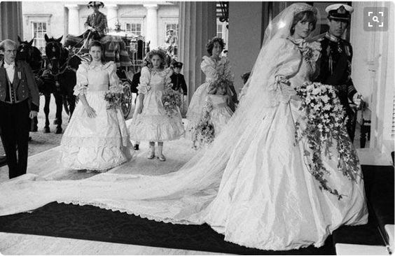Mariage Du Princes Charles De Galles Et Lady Diana Spencer
