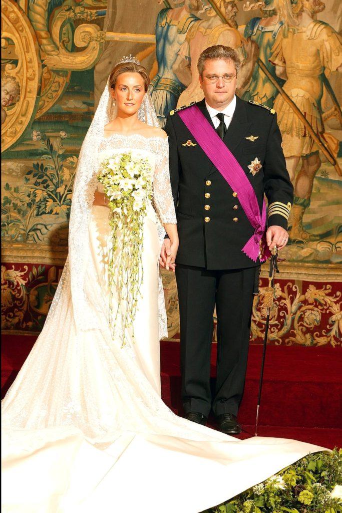 Mariage du Prince Laurent de Belgique et Claire Coombs