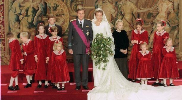 Cortège mariage Mathilde de Belgique
