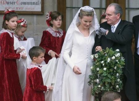 enfants d'honneur mathilde de Belgique