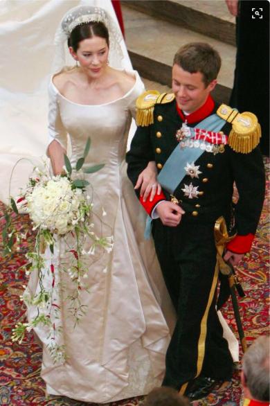 Mary du danemark mariage
