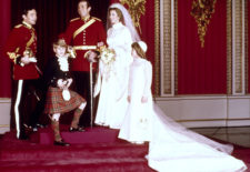 Mariage du Capitaine Mark Philips et de la Princesse Anne du Royaume-Uni