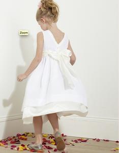 patron couture robe ceremonie fille