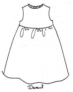 Patron robe Cyrillus