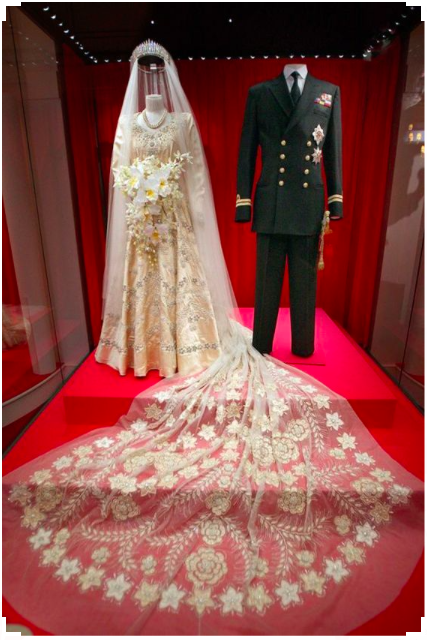 Robe mariee Elizabeth_II
