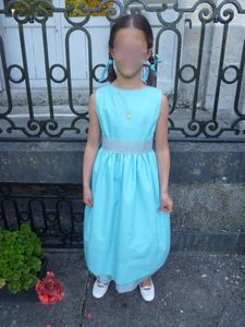 Cortège Albane: turquoise et gris