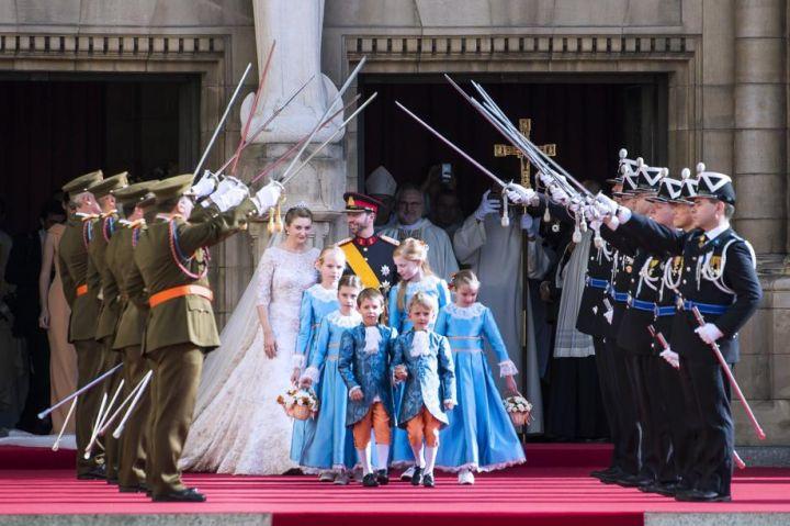 Prince et Princesse Guillaume de Luxembourg, le 20 octobre 2012