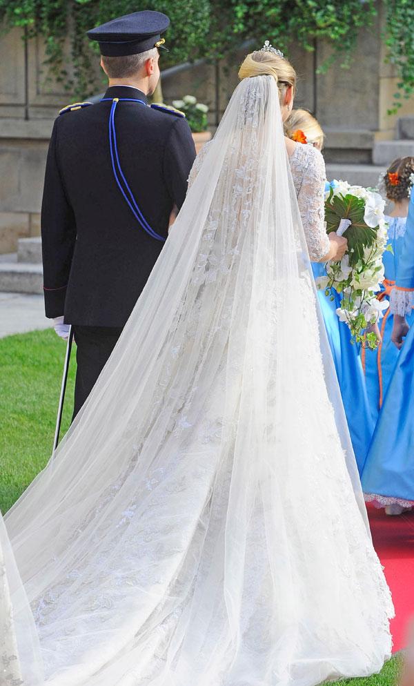 Voile de la Princesse Stéphanie de Luxembourg