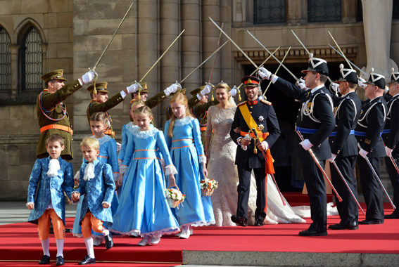 Wedding of Hereditary Grand Duke of Luxembourg -Religious wedding