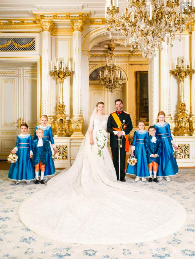 mariage prince de luxembourg