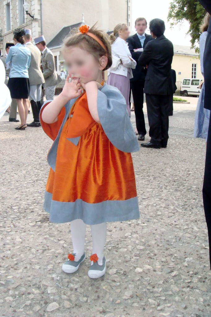 demoiselle d honneur robe taille empire