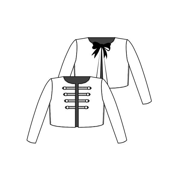 veste brandebourgs
