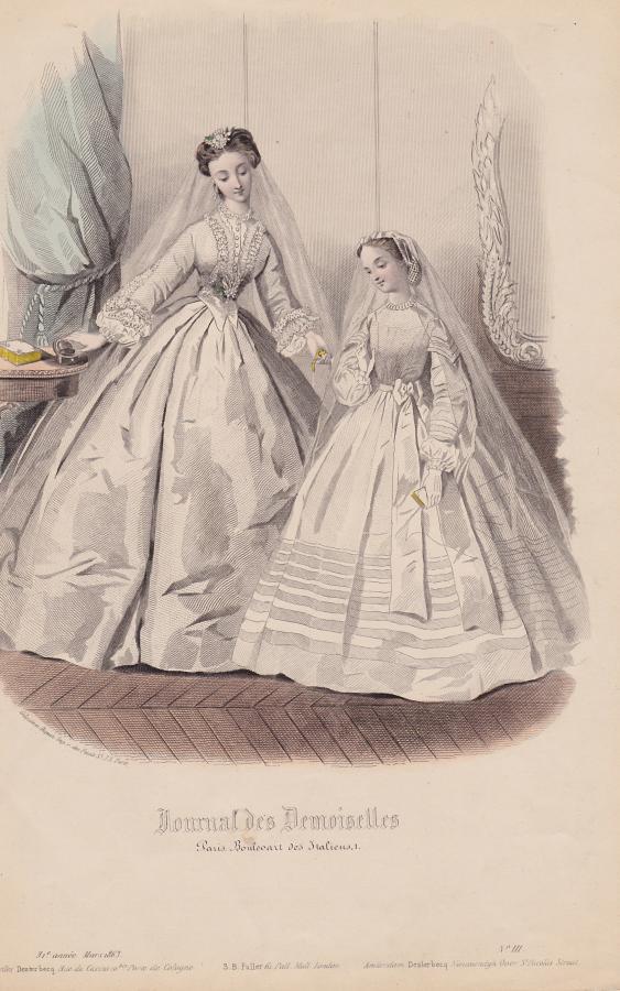Tissu cortege mariage