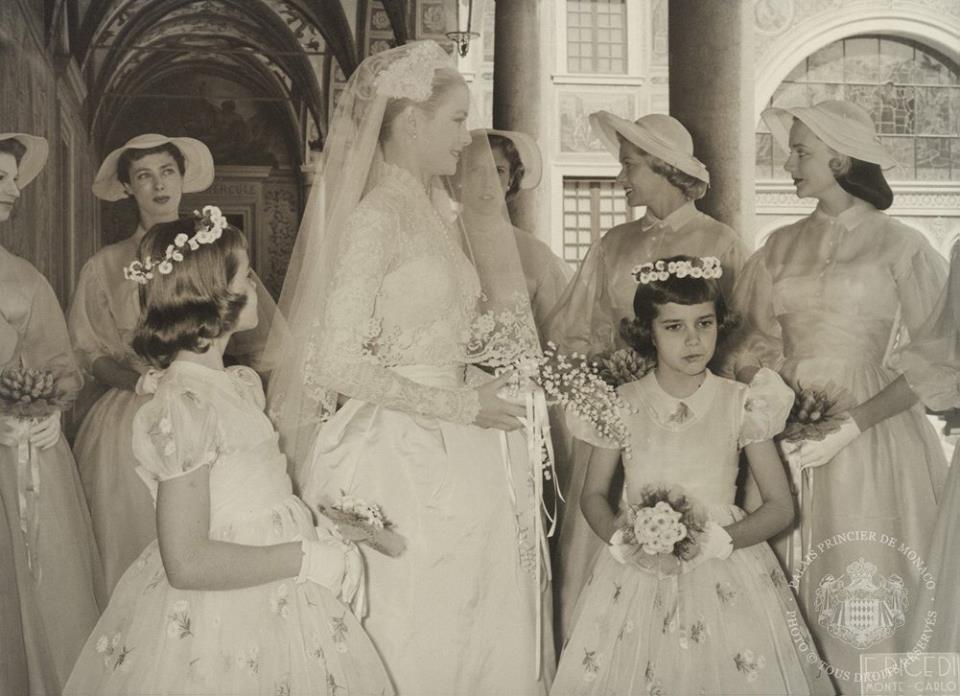Mariage du Prince Rainier III de Monaco et Grâce Kelly
