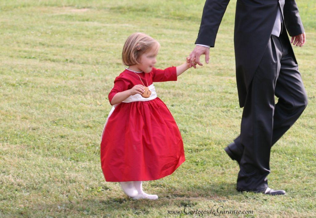robe juponnée