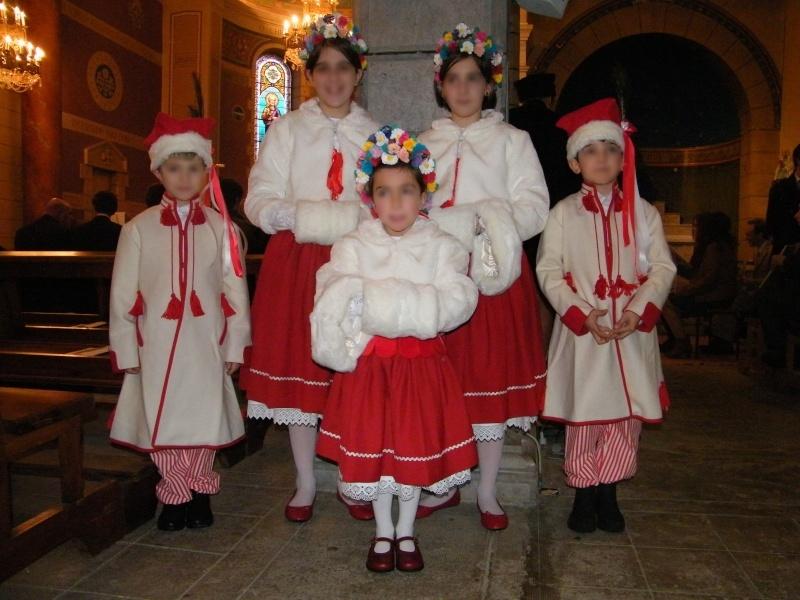 Cortège Maëlle: tenues traditionnelles de Pologne