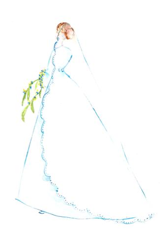 aquarelle voile