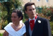 Robe de mariée de Domitille