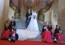 Mariage de l'Archiduc d'Autriche Christoph de Habsbourg-Lorraine et Adélaïde Drapé-Frisch