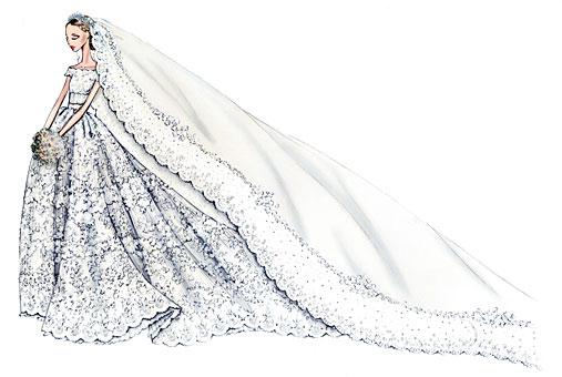 robe mariee Valentino Madeleine de Suede