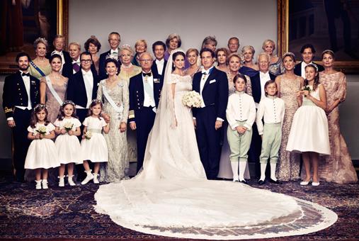 Mariage de la princesse madeleine de su de for Robes blanches simples pour le mariage de palais de justice