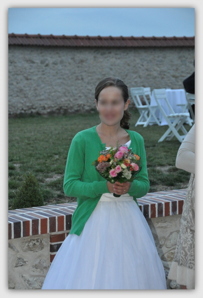 Coiffure de mariée de Marguerite