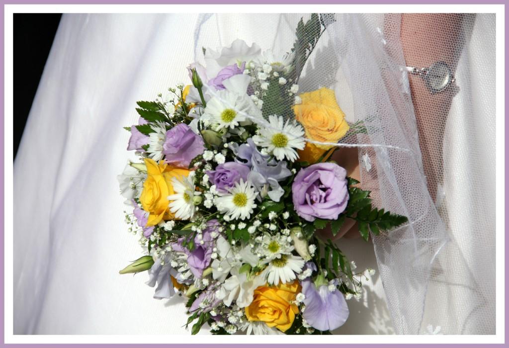 Bouquet de mariée de Solange