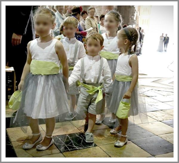 cortege enfants honneur