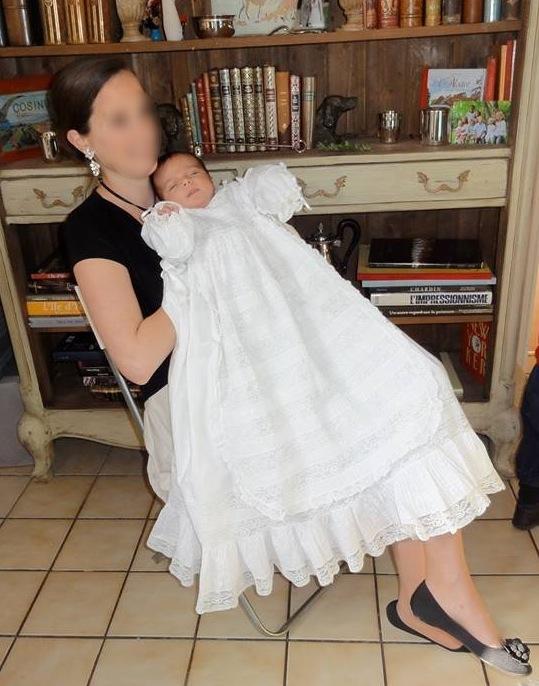 Robe De Bapteme Mamanrobe Un Jour Ailleurs