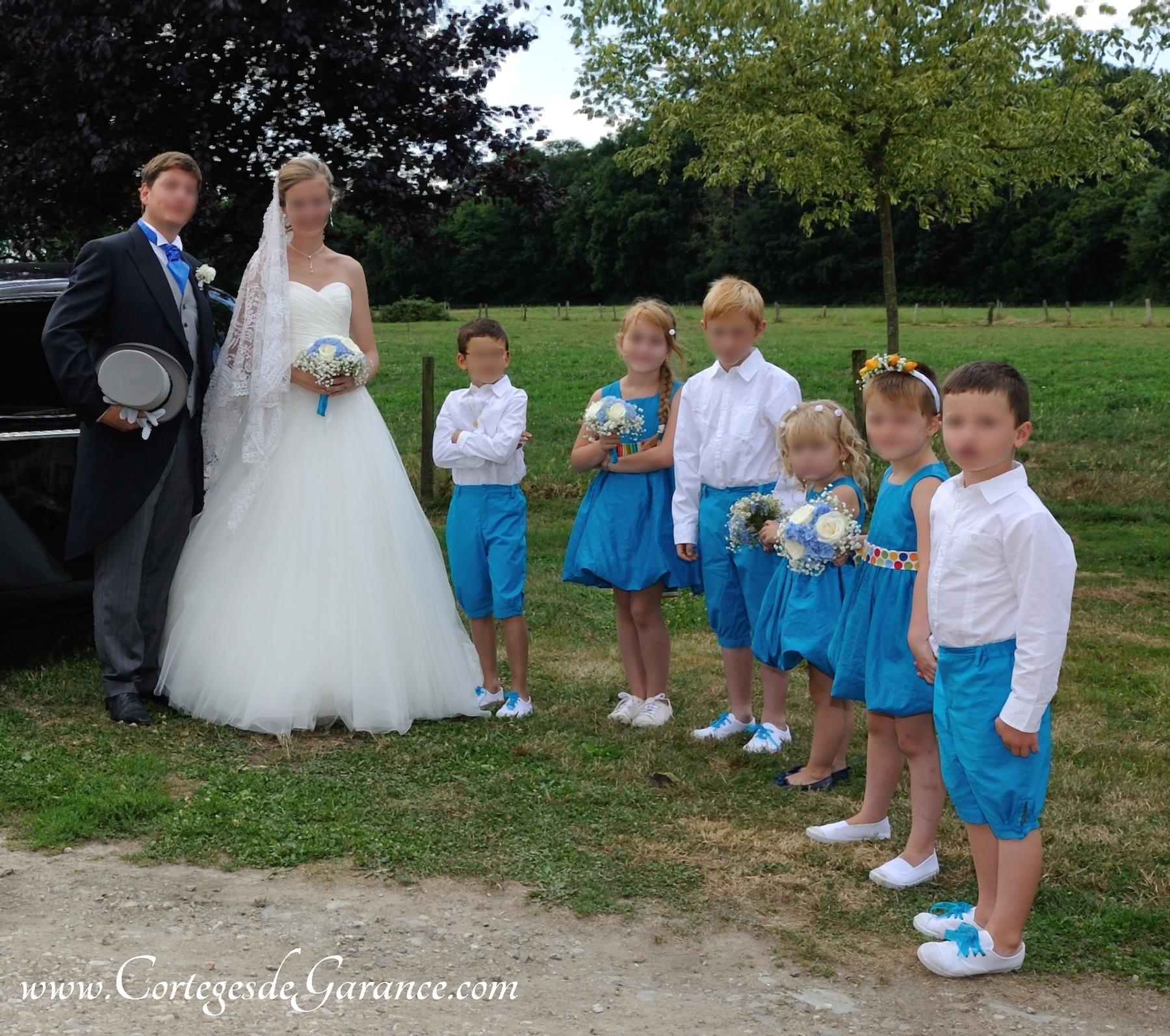 Cort ge robe boule turquoise et ceinture pois for Magasins de robe de mariage dans le minnesota