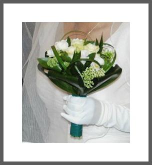 Bouquet de mariée d'Audrey