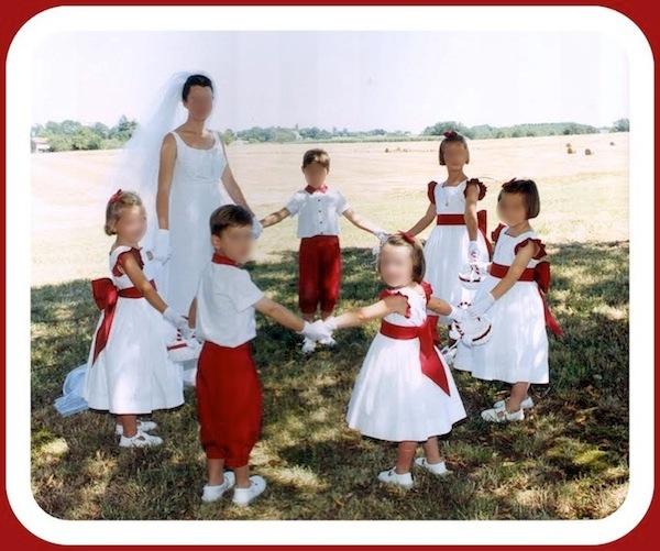 Cortège Aude: Rouge et blanc aux couleurs des landes