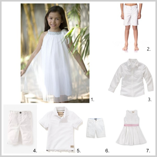 Robe blanche fille redoute