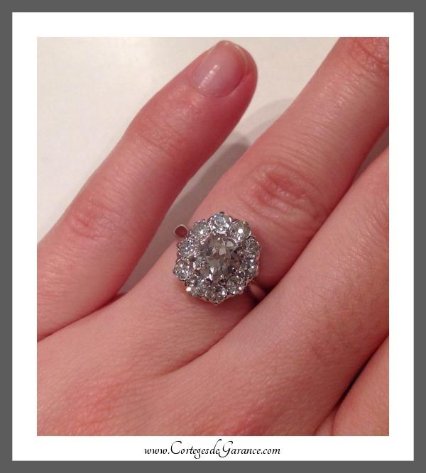 diamant coussin
