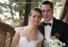 Robe de mariée de Maÿlis: organza et doupion de soie