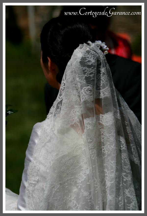 Voile de mariée de Saveria