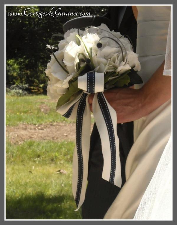 bouquet mariee ruban