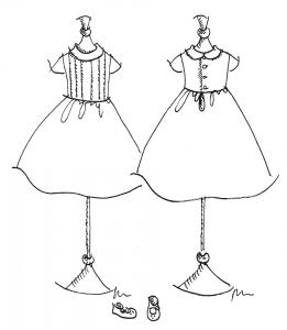 patron robe demoiselle d'honneur