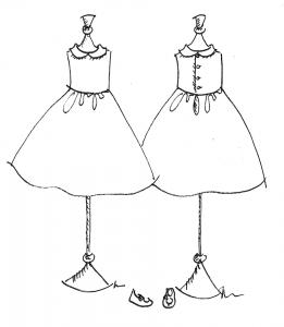 patron robe demoiselles d'honneur