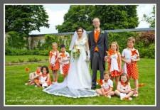 Cortège Anne-Flamine: pois oranges et moulins à vent