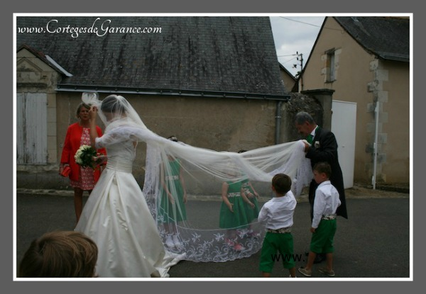 Voile mariee