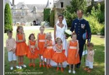 Cortège Dauphine: orange et marinières