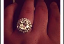 Bague de fiançailles de Laure: diamant de 4,2 carats