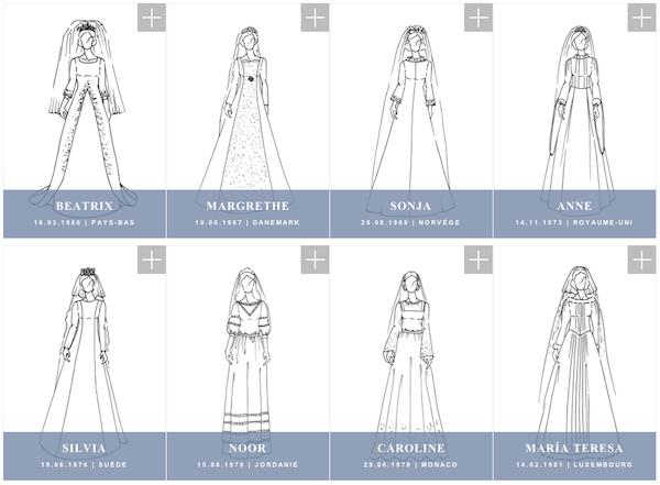 Robe mariee princesses