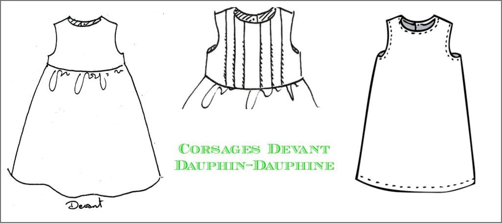 Dauphin-Dauphine 1eres gamme de patrons à la carte