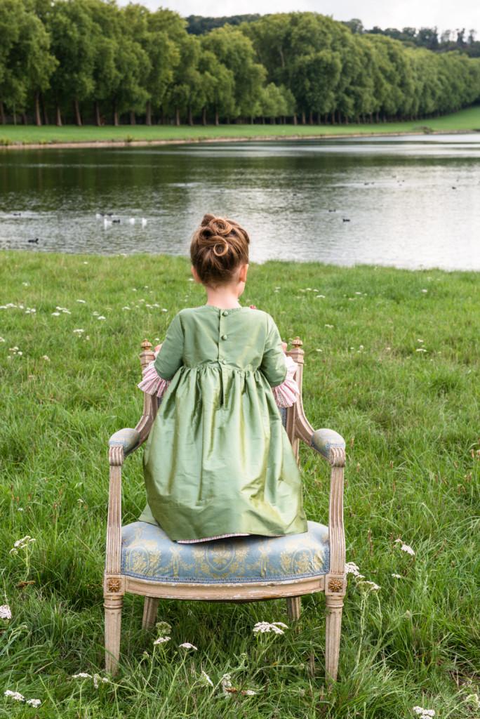 Photo: Solène Perrot - Coiffure: Cut & Learn - Trianon: Robe Duchesse
