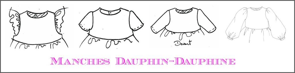 Manches Dauphin-Dauphine, compatibles avec la robe à dos nu