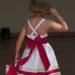 Cortège Angélique: robe à bretelles croisées dos