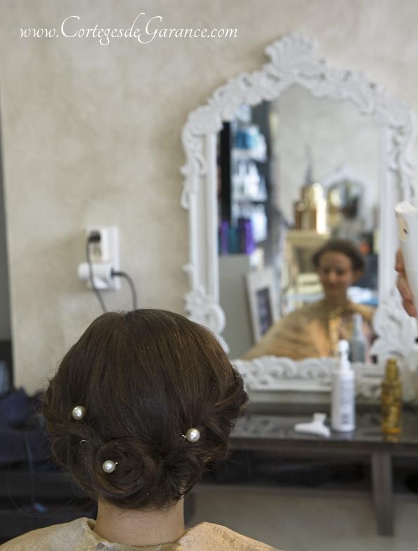 Armance-Marie: Robe, coiffure et bouquet