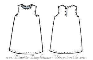 Compatible avec la robe trapèze